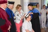 Uroczystość czepkowania studentów II roku pielęgniarstwa PWSZ w Gnieźnie