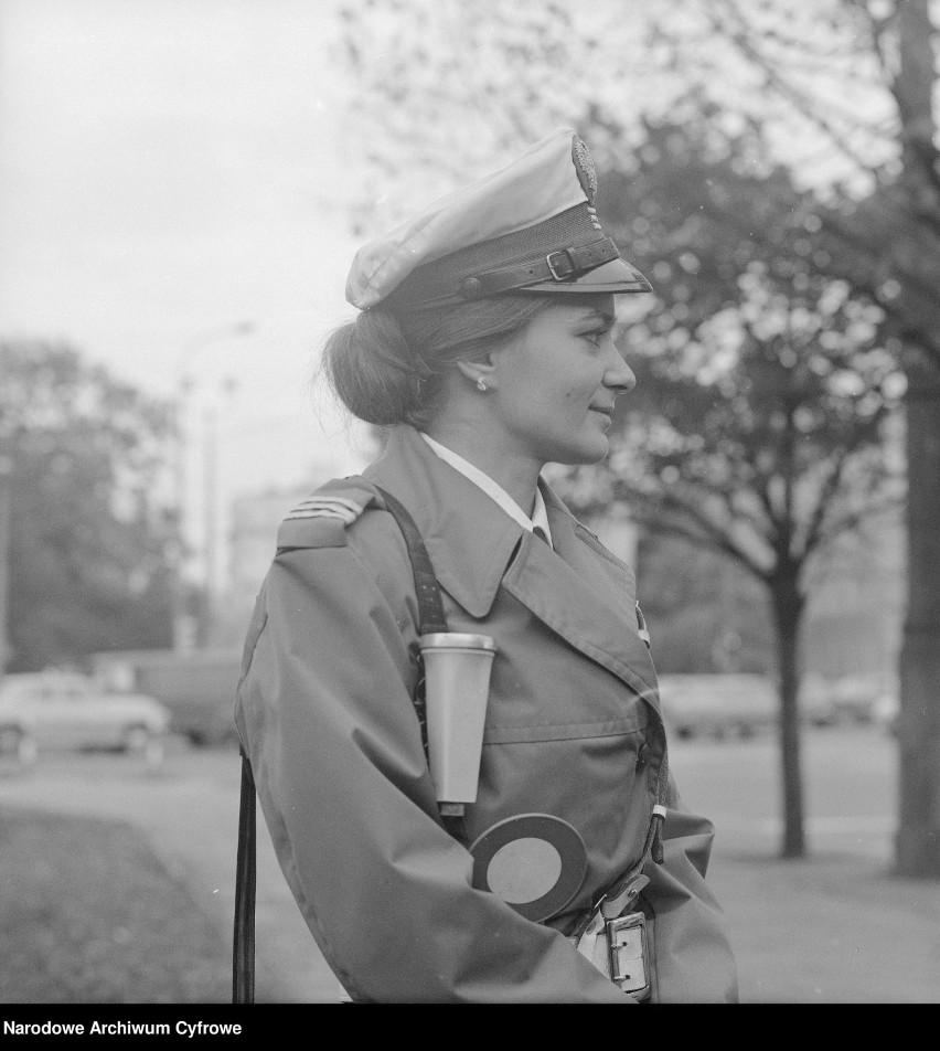 Milicjantka Barbara Seroczyńska, Warszawa 1977