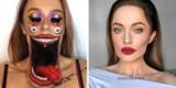 Iluzja makijażu. Brytyjska artystka zamienia się w kogo zechce! Surrealistyczne iluzje optyczne na twarzy: zobacz zdjęcia