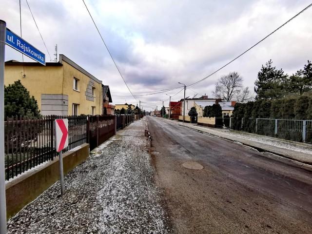 Ulica Rajskowska w Kaliszu doczeka się wreszcie remontu