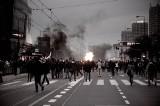 Policjant skopał człowieka na Marszu Niepodległości. Dostał 1,5 roku więzienia w zawieszeniu