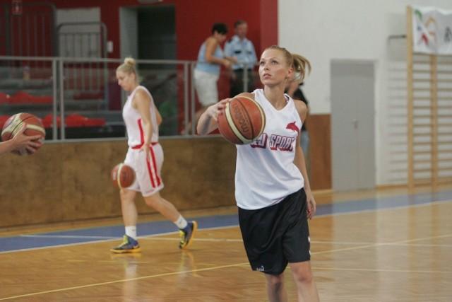 Basket ROW Rybnik, zdjęcia z treningu nowego klubu, koszykówka kobiet