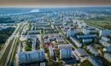 Skarpa w Toruniu z drona. Zobacz niesamowite zdjęcia największego osiedla w mieście