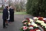 Uroczystości Święta Niepodległości przed Pomnikiem Poległym za Ziemię Myszkowską ZDJĘCIA