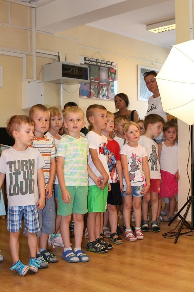 Przedszkolaki w Zespole Szkół Ekonomicznych w Radomsku