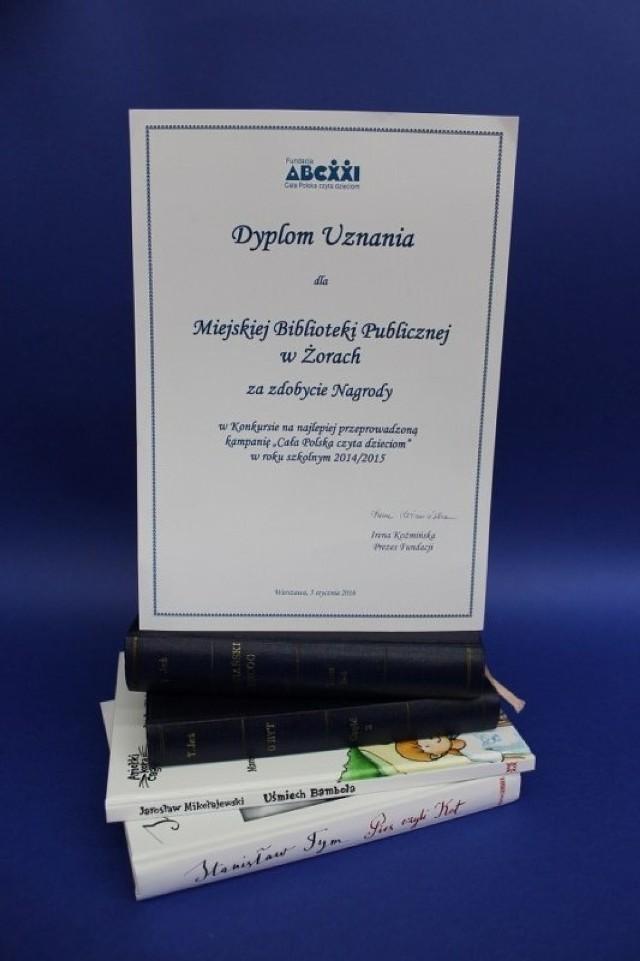 Żorska biblioteka wśród najlepszych w całej Polsce!