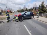 Wypadek w Annopolu Nowym w gminie Zduńska Wola ZDJĘCIA
