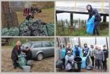 Morsowanie we Włocławku. Sprzątali lasy i zbierali śmieci nad jeziorami Czarnym i Łuba [zdjęcia]