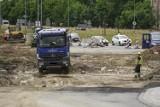 Budowa linii tramwajowej w Nowej Warszawskiej. Od czwartku 8.07.2021 r. duże zmiany w organizacji ruchu