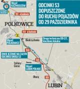 Uwaga! W piątek, 29 października oddają do ruchu odcinek S3 Polkowice – Lubin Północ