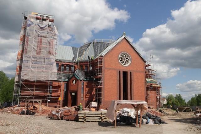 Budowa nowego kościoła w Katowicach  Zobacz kolejne zdjęcia/plansze. Przesuwaj zdjęcia w prawo - naciśnij strzałkę lub przycisk NASTĘPNE