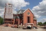 Budowa nowego kościoła i klasztoru w Starych Panewnikach w Katowicach. Kompleks będzie gotów najwcześniej za rok