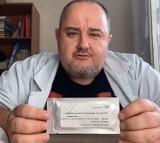 Jak samemu zrobić sobie test na koronawirusa w domu? Wystarczy 10 minut. Posłuchaj śląskiego lekarza