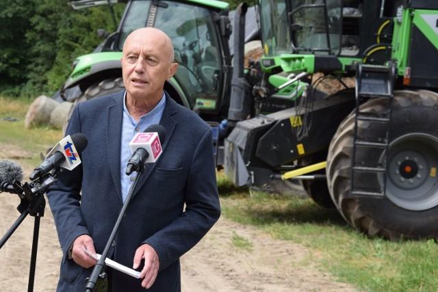 Poseł Jerzy Hardie-Douglas mówi o rozwiązaniach dla rolnictwa
