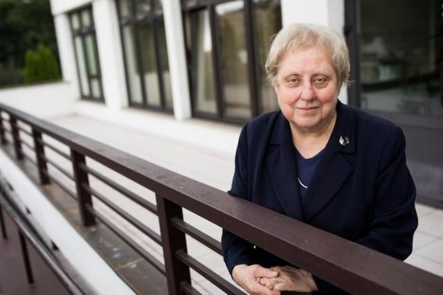 Jolanta Stokłosa, prezes Towarzystwa Przyjaciół Chorych Hospicjum im. św. Łazarza w Krakowie, znalazła się wśród laureatów medalu za ubiegły rok