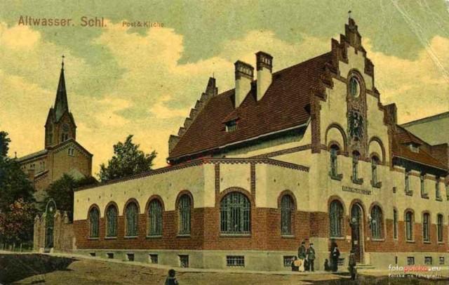 Lata 1905-1910, Urząd Pocztowy Wałbrzych nr 4