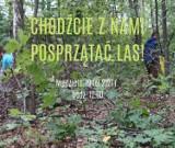 Libiąż. Akcja sprzątania lasu już w niedzielę. Każdy może pomóc uporządkować teren
