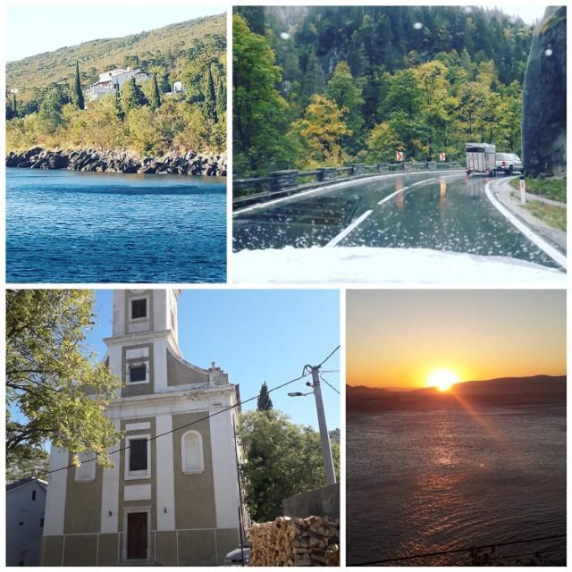 Tak wyglądały tegoroczne wakacje mieszkańców Krosna Odrzańskiego, Gubina i okolic (na tym kolażu widoki z Półwyspu Peljesać, który odwiedziła pani Ania).