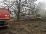 Odpady z budowy wyrzucali na tereny Otuliny Kampinoskiego Parku Narodowego. Przyłapano ich na gorącym uczynku