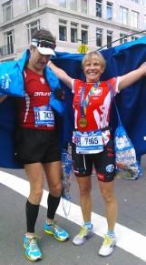 Nauczycielka z poznańskiego gimnazjum pobiegła w nowojorskim maratonie!