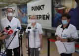 Radom. Pracownicy szpitala na Józefowie zachęcają młodzież do szczepień przeciwko COVID-19