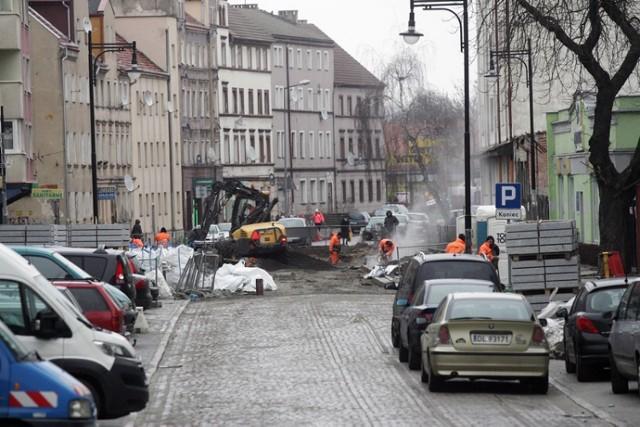 Remont ulicy Wrocławskiej w Legnicy