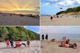 Koniec sezonu wakacyjnego nad morzem. Słońce pojawia się i znika. W GALERII można pożegnać lato nad Bałtykiem