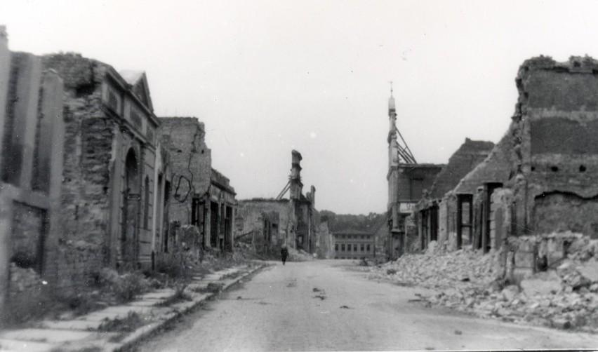 Ulica Kazimierza Wielkiego w Stargardzie, lata 40. XX wieku