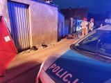 Poszkodowani w wypadku motocykla w Margoninie [ZDJĘCIA]