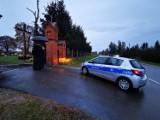 We wsi Koperniki pod Nysą wandale zniszczyli ogrodzenie parafialnego cmentarza