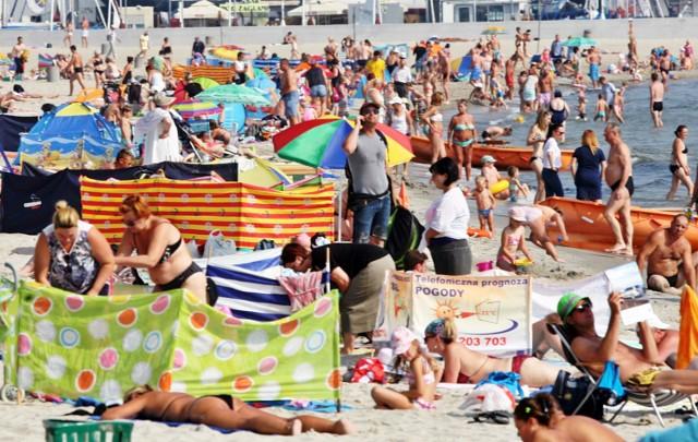 Sezon w Trójmieście. Trójmiejskie plaże były oblegane. Ale nie tylko one były atrakcją Wybrzeża.