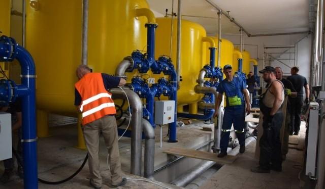 Gmina Gubin zamierza modernizować stację uzdatniania wody i chciałaby, żeby do inwestycji dołożyli się... Niemcy.