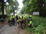 Rowerami na biwak w Łętowie. Aktywny wypoczynek na łonie natury [zdjęcia]