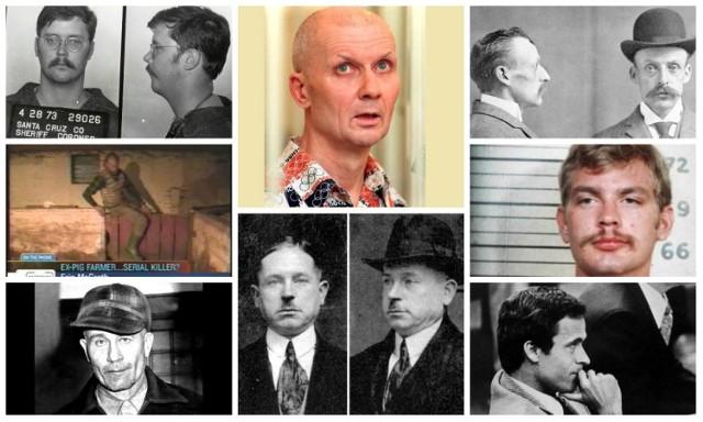 Nie boisz się horrorów, bo wiesz, że to tylko film? To co powiesz na prawdziwe historie o psychopatach, którzy swoje ofiary obdzierali ze skóry, ćwiartowali, zjadali, albo karmili nimi świnie? Oto sylwetki 10 seryjnych morderców, którzy dokonali wielu okrutnych zbrodni. Przejdź do galerii ------>
