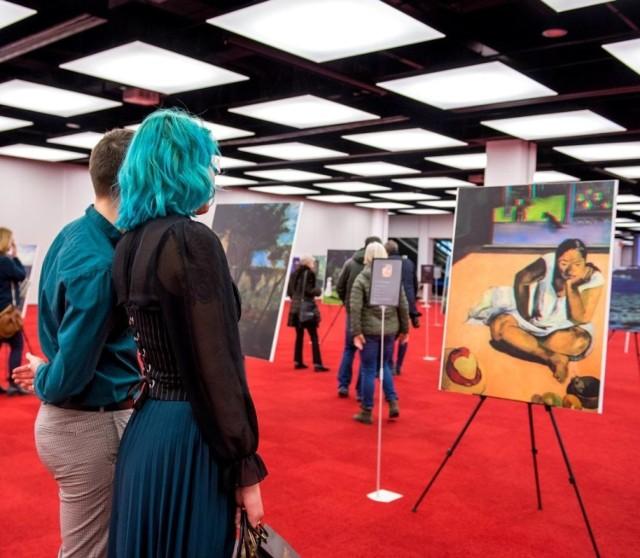 """Niezwykła wystawa w MCK. """"Ożywione"""" obrazy klasyków. Cezanne, Degas, Gauguin, Manet, Monet, Morisot, Renoir czy Van Gogh w 3D"""