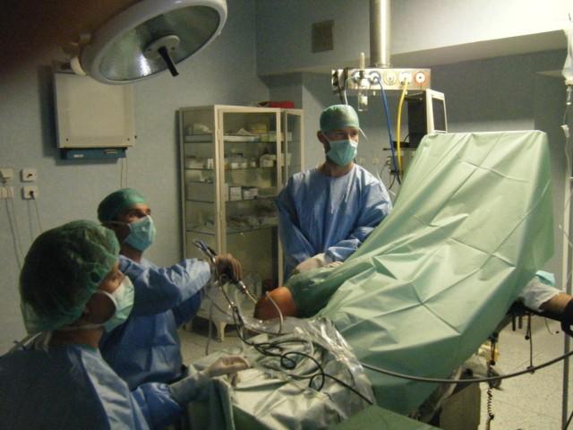 Sala operacyjna w pleszewskim szpitalu