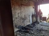 Nowy Sącz. Płoneło mieszkanie w bloku. Wewnątrz był nieprzytomny mężczyzna
