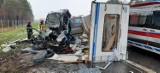 Tragiczny wypadek na S1 w Mierzęcicach. Zginęło 3-miesięczne dziecko i jego matka! Zderzyło się pięć samochodów, osiem osób jest rannych