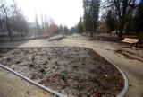 Przebudowa parku Fusińskiego w Sosnowcu dobiega końca. Zobacz zdjęcia