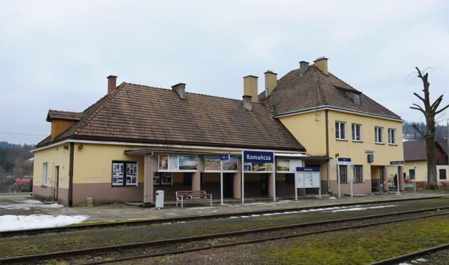 W budynku dworca PKP w Komańczy ma powstać m.in. łemkowska izba pamięci.
