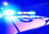 Samochód rozbił się w Barcicach. Utrdnienia na drodze krajowej nr 87