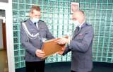 Uroczyste zdanie stanowiska przez Pierwszego Zastępcę Komendanta Powiatowego Policji w Starogardzie Gdańskim
