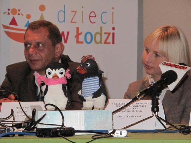 Animowany pingwini Pik Pok doczekał się swojego pomnika.