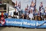 """Narodowy Marsz Życia w Warszawie. """"Genderyzm to dewiacja"""" [ZDJĘCIA]"""