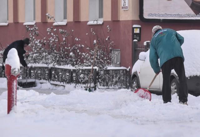 Nie wszystkich bydgoszczan cieszą opady śniegu i niskie temperatury.