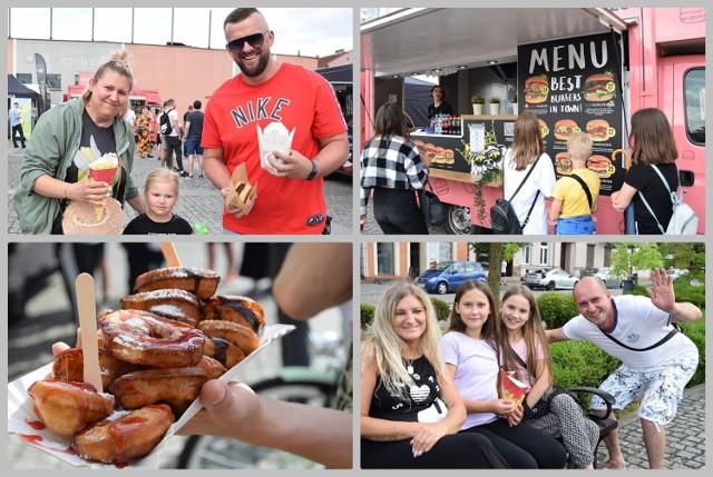 Dni Włocławka 2021. Food Truck Festival na Zielonym Rynku we Włocławku, 25 czerwca 2021 roku.