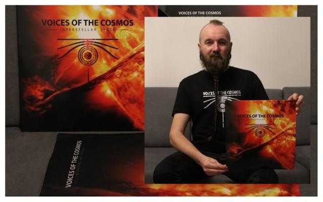 """Wojciech Zięba prezentuje najnowszą płytę Voices Of The Cosmos zatytułowaną """"Interstellar Space"""""""