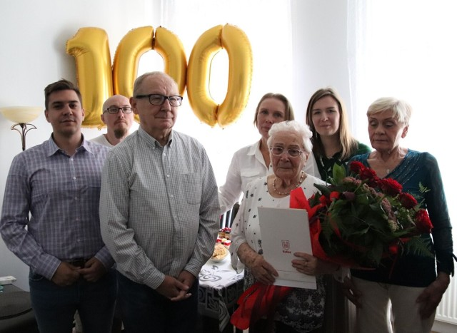 Kaliszanka Maria Sulej-Marcinkowska świętowała setne urodziny
