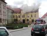 Pożar w Świebodzicach: spłonęły wersalka i pralka
