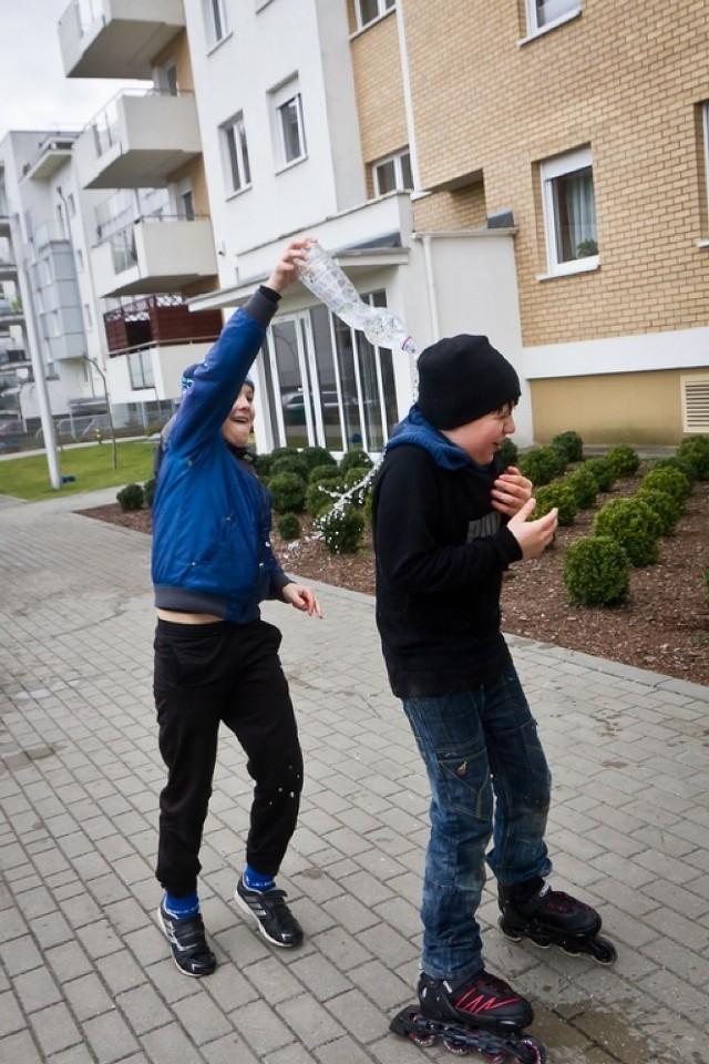 Śmigus-dyngus na bydgoskich ulicach [ZDJĘCIA]